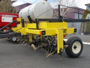 12' Aerway Soil Aerator with pasture harrow